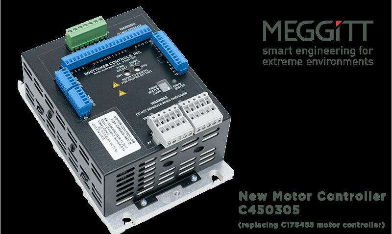 New Meggitt motor controller C450305